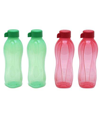 Tupperware Aquasafe Water Bottle Set 500ml Set of 6