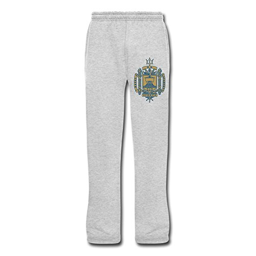 Ash United States Naval Academy Men's Sports Sweatpants For Guys Size XXL (one Size Small)