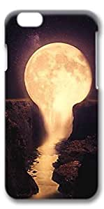 iPhone 6 Case, Protective Case[Scratch Resistant][Perfect Fit] Hard 3D Cover for 4.7 inches iPhone 6 - Pour The Moon