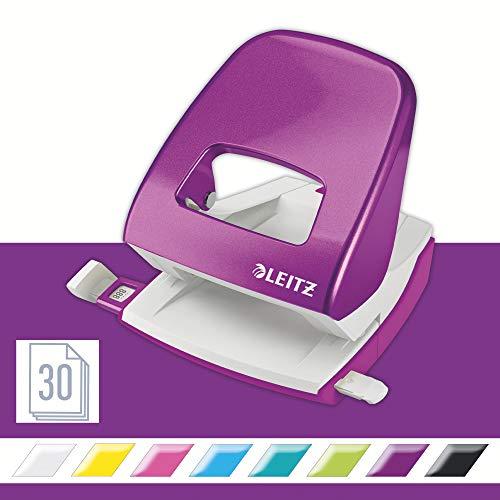 Leitz NeXXt - Perforador de papel, morado