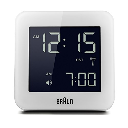 braun digital lcd alarm clock - 8