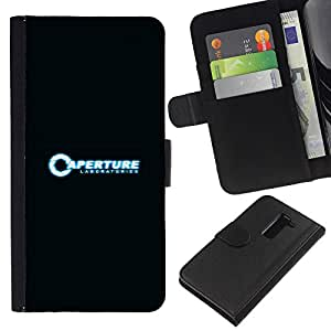 NEECELL GIFT forCITY // Billetera de cuero Caso Cubierta de protección Carcasa / Leather Wallet Case for LG G2 D800 // Laboratorios de Aperture