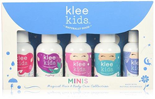 Luna Star Naturals Klee Kids 5 Piece Mini Hair and Body Care Set