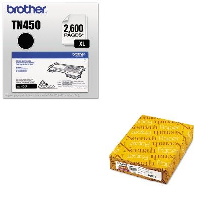KITBRTTN450NEE06531 - Value Kit - Neenah Paper Classic Laid Stationery Writing Paper (NEE06531) and Brother TN450 TN-450 High-Yield Toner (BRTTN450) by Neenah