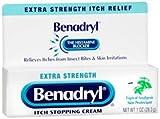 Benadryl - Itch Relief - 2% / 0.1% Original Strength Cream - 1 Each - 1 oz. Tube - McK