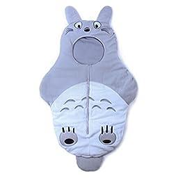 Toddler Young Child Baby Boy Micro Fleece Blanket Sleeping Bag Sleep Sack (Totoro)