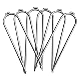 Trampoline Galvanized Steel Wind Stakes-6 Pack-Trampoline Accessories