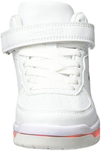 KangaROOS K-Lid - Zapatilla Baja Unisex Niños Weiß (White)