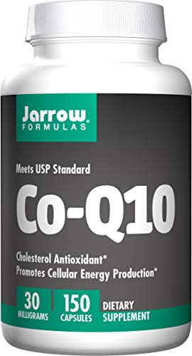 - Jarrow Formulas Co-Q10 30 mg, Promotes Cellular Energy Production, 30 mg, 150 Caps