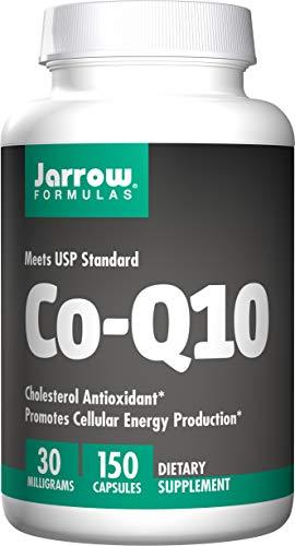 Jarrow Formulas Co-Q10 30 mg, Promotes Cellular Energy Production, 30 mg, 150 Caps ()