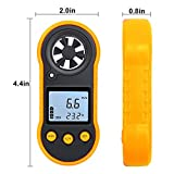 HAPPEEY Digital Anemometer, Wind Speed Meter, Air