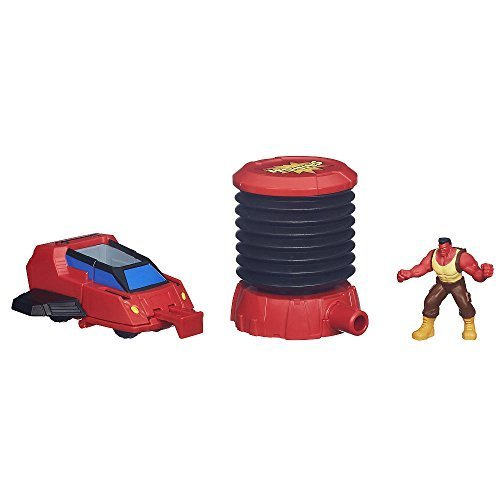 Marvel, Hulk and the Agents of S.M.A.S.H., Exclusive Crashin' Crew Red Hulk Vehicle with Red Hulk Figure (Hulk And The Agents Of Smash Games)