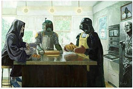 Bucket Imperial Baking Party Star Wars Parody Darth Vader