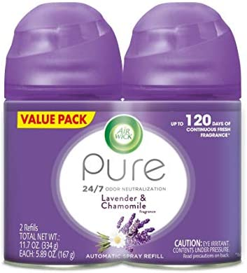 8 Pack of Air Wick Freshmatic Max Refill Pure
