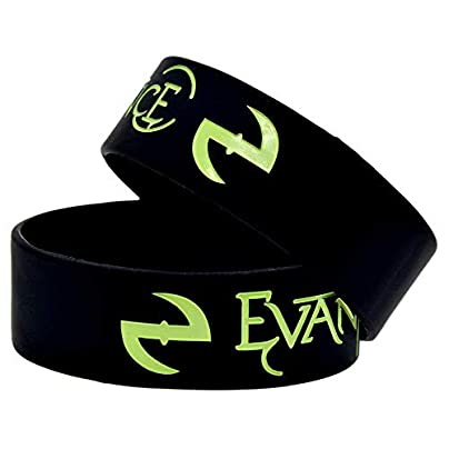 Sxuefang Silicone Bracelets With Sayings Evanescence Symbol Rock Band Rubber Wristbands For Men And Kids Encouragement Set Pieces Estimated Price £29.99 -