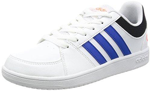 Adidas VS HOOPS K–Sneaker deportivaspara Kinder, Weiß–(Ftwbla/Blau/negbas), 30