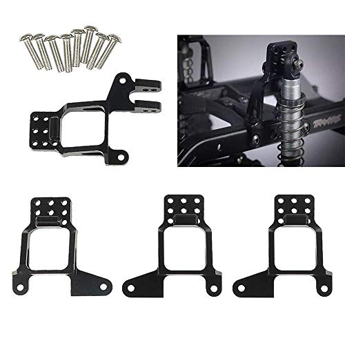 CNC Machined Aluminum Front Rear Shock Mount Tower Hoops Bracket for 1/10 RC TRAXXAS TRX-4