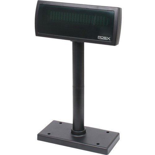 POS-X XP8200U Customer Pole Display, USB Powered, black Posiflex