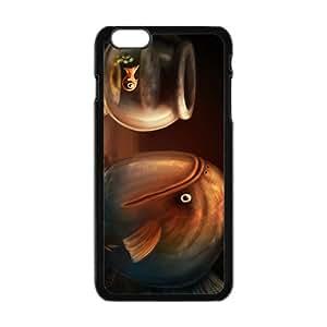 Malcolm Creative Fish Pattern Custom Protective Hard Phone Cae For Iphone 6 Plus