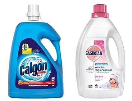 Sagrotan Ropa Higiene Lavavajillas 1,5L + Calgon 2 in1 Gel 3,75l ...