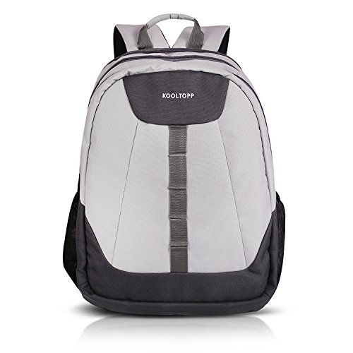 Kooltopp Loretto Laptop Backpack for all 15.6 inch Laptops & 15.4 Apple Macbook (Silver/Grey)