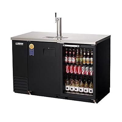 Everest Refrigeration EBD2-BBG Back Bar & Direct Draw Keg Refrigerator Combo