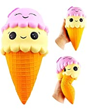 Squishy helado Squishies Ice Cream Jumbo 22cm Slow Rising Kawaii Colección Regalo Soft Toy