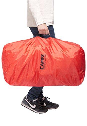 CAMPZ Mountain Pro 55+10L Rucksack schwarz 2017 outdoor-rucksack