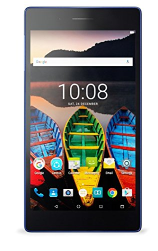Lenovo Tab3 730X Tablet (7 inch, 1GBRAM, 16GB, Wi-Fi + 4G LTE, Voice Calling), Black Blue