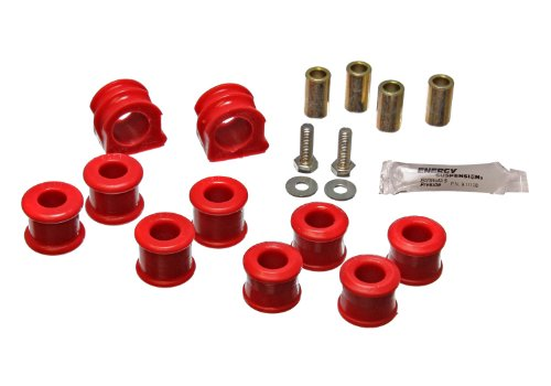 Vw Anti Roll Bar (Energy Suspension 15.5106R 23mm Front Sway Bar Set for VW)