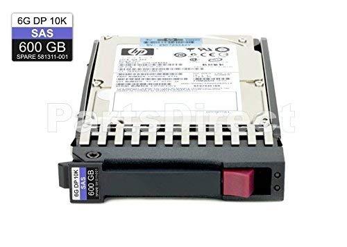 HP EG0600FBLSH EG0600FBLSH HP 600GB 10K 6G SFF SAS HARD DRIVE (Certified Refurbished)