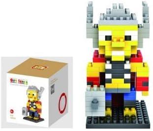 Loz (Product Box Included) Thor De Superhéroes Micro Blocks Edificable Figura Edad 9+: Amazon.es: Juguetes y juegos