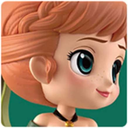 Q posket Disney Characters Anna Anna and The Snow Queen pearl color ver