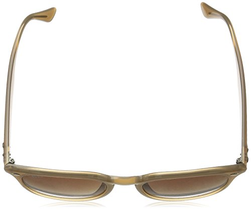 Ray-Ban RB4259F Sunglasses Shiny Opal Beige / Brown Gradient 53mm