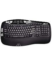 Logitech K350 Wireless Wave Keyboard with Unifying Wireless Technology