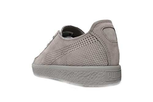 Puma Välja Mens X Stampd Clyde Sneakers Duggregn / Duggregn
