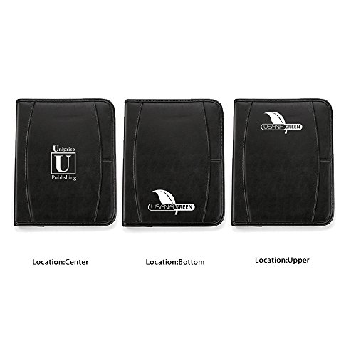 Deluxe Writing Pad - 13 Quantity - $18.50 Each - BRANDED / DEBOSS PRINT with YOUR LOGO / CUSTOMIZED by Sunrise Identity