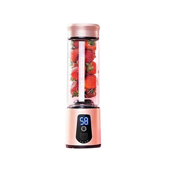 Frullatore elettrico portatile Frullatore USB Mini miscelatori di frutta Spremiagrumi Estrattori di frutta Frullato… 1 spesavip