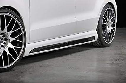 Rieger Potenciador de Aspecto de Carbono Look para Volkswagen Polo ...