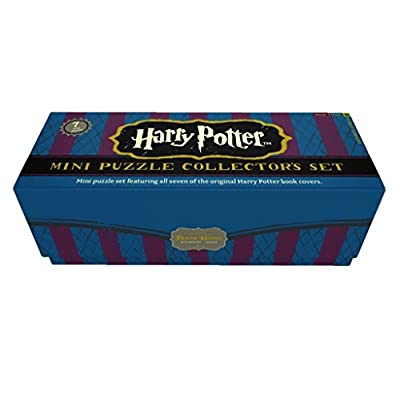 New York Puzzle Company - Harry Potter Harry Potter Mini Puzzle Collector's Set - 100 Piece Jigsaw Puzzle: Toys & Games