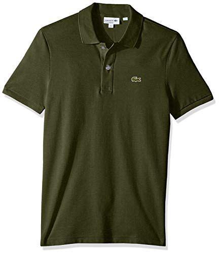 Lacoste Men's Petit Piqué Slim Fit Polo Shirt, Caper Blush, Large (Polo Shirt Lacoste)
