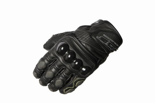 Scorpion SGS Men's Leather On-Road Motorcycle Gloves - Black/Medium