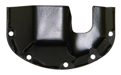 0 Black Differential Skid Plate for Dana 30 ()