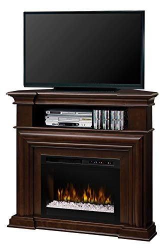 Cheap DIMPLEX Montgomery Media Console Electric Fireplace with Acrylic Ember Bed Black Friday & Cyber Monday 2019