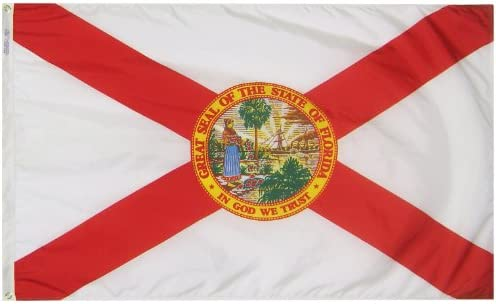 New Banner Flag for Great Seal of The State of Florida Flag Wall Deco 3x5ft
