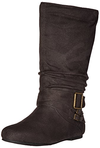Brinley Co Women's Prospect-08wc Slouch Boot Grey Wide