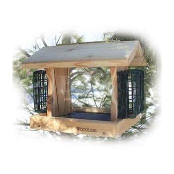 Woodlink PRO2 Cedar Bird Feeder with Suet (Discontinued by Manufacturer)