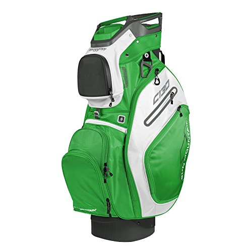 Sun Mountain Golf 2018 C-130 Cart Bag Gunmetal, Lime, White (Lime White)