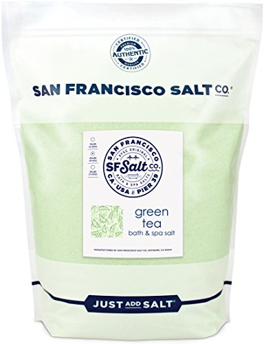 20 lb. Bulk Bag by San Francisco Salt Company (Green Tea Soak)