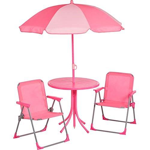 Mosaic Kids' Realtree Xtra Camo 4-piece Patio Set (Realtree Xtra Pink) For Sale
